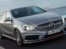 Den nye Mercedes A-klasse koster fra 329.900 kr.