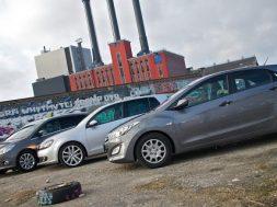 Hyundai i30 i duel mod Ford Focus og VW Golf
