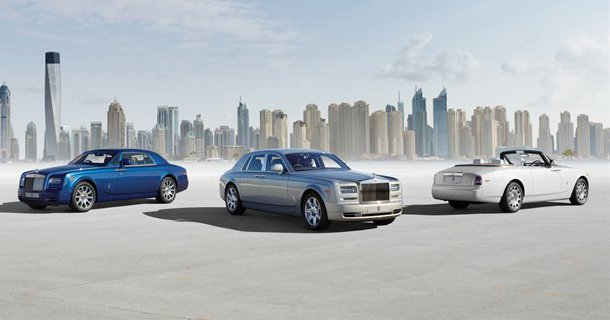 Facelift til Rolls-Royce Phantom