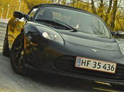 Tesla roadster sport kviktes bilsektionen.dk