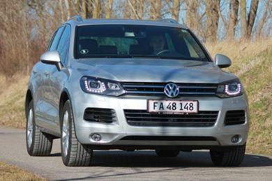 Volkswagen Touareg 4.2 TDI V8 test