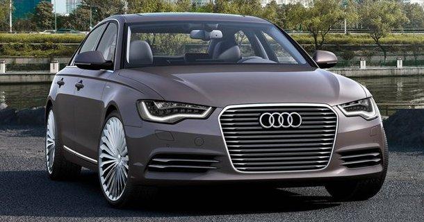Audi løfter sløret for A6 e-tron
