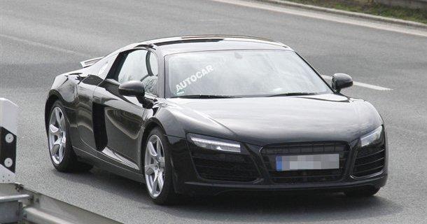 Dobbeltkoblingsgearkasse i Audi R8