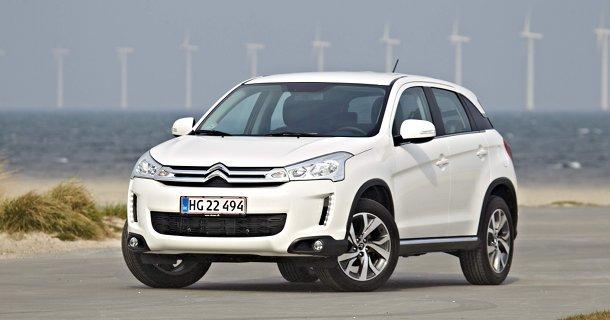 Premiere på den nye Citroën C4 Aircross