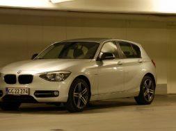 BMW 1-serie med firehjulstræk og lille diesel
