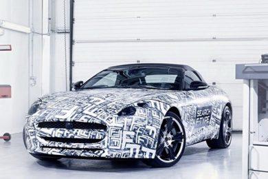 Jaguar bekræfter 5.0 V8 F-type roadster
