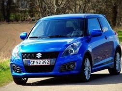 Suzuki swift sport test 2012 af bilsektionen