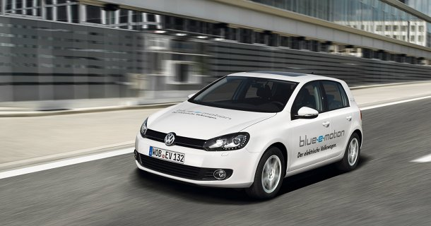 Danmarkspremiere: Volkswagen Golf Blue-e-Motion