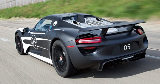 770 hk og 33,3 km/l med Porsche 918
