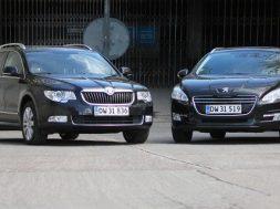 Vi tester Skoda SuperB mod Peugeot 508 stationcar