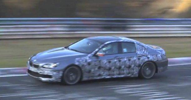 BMW M6 Gran Coupé spottet på Nürburgring – Video