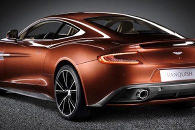 Se de lækkede billeder af Aston Martin Vanquish