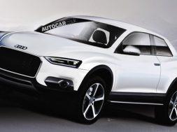 Skitse af den kommende Audi Q2