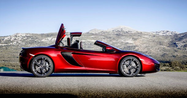 Den nye McLaren MP4-12C Spider – Video