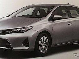 Lækkede billeder af den nye Toyota Auris