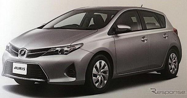 Lækkede billeder af ny Toyota Auris