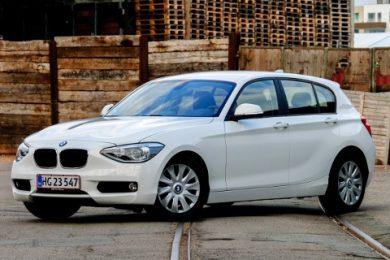 Et testhold klarede 37 km/l i BMW 116d