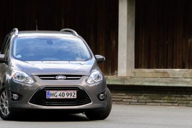 Ford Grand C-MAX test
