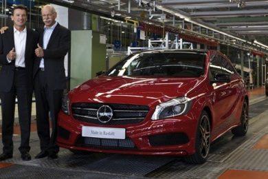 Mercedes satser på firecylindrede benzinmotorer