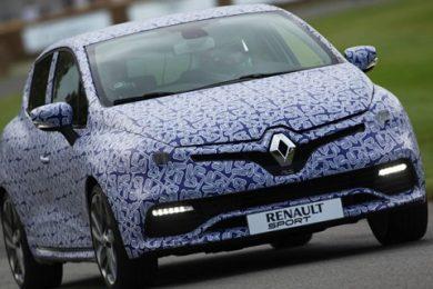 Ved Goodwood blev Renault Clio R.S. fremvist
