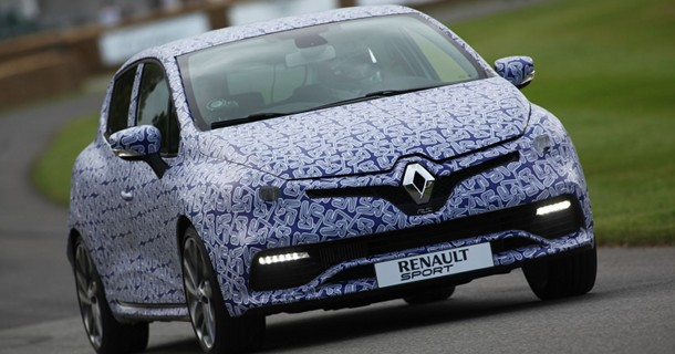 Ny Renault Clio R.S. testkørt ved Goodwood Festival of Speed – Video