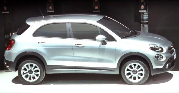 Fiat 500X afsløret
