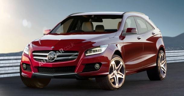 Mercedes bekræfter A-klasse SUV