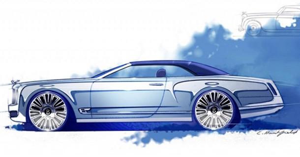 Bentley viser åben udgave af Mulsanne