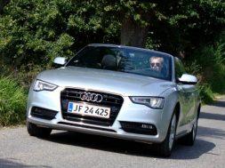 Vi tester den mellemstore Audi cabriolet som hedder A5