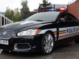 Det rumænske politi får en Jaguar XFR
