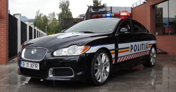 Rumænsk politi får 510 hestes Jaguar XFR