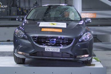 Volvo V40 crashtest Euro NCAP