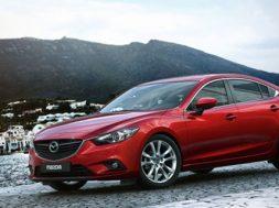 Her ser du den nye Mazda6 sedan