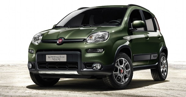 Fiat viser offroad Panda
