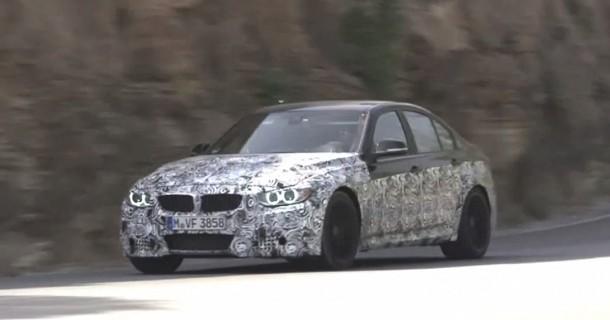 Se den nye BMW M3 – Video