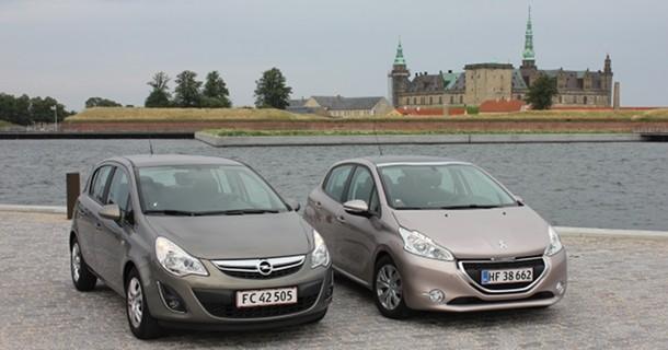 Kvikduel: Opel Corsa mod Peugeot 208