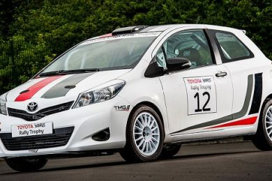 Toyota yaris er klar til rally