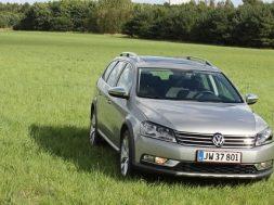 Test af off-roaderen Volkswagen Passat Alltrack