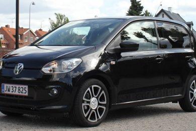 Volkswagen up! high up med fem døre test af Bilsektionen