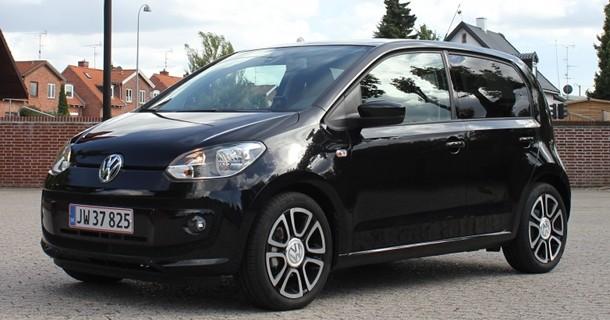 Kviktest: VW up! med fem døre