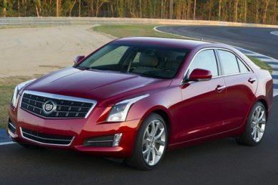 Den nye Cadillac ATS ved Paris Motor Show