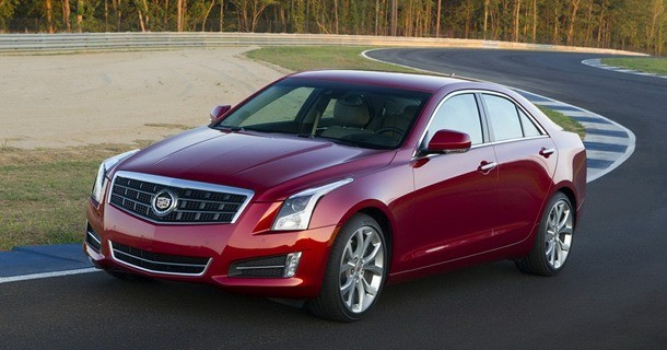 Ny Cadillac ATS bliver vist ved Paris Motor Show