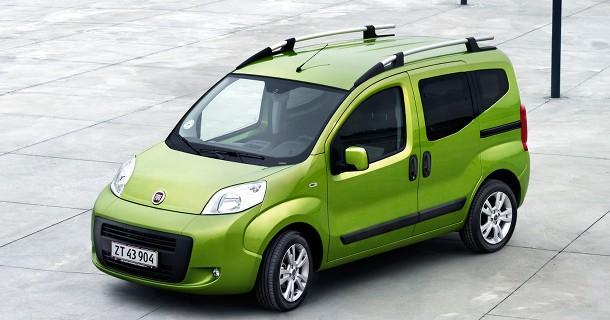 To nye Fiat Qubo versioner fra 139.990 kr.
