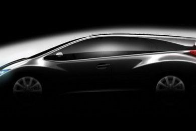 Muligt Honda Civic Stationcar koncept på vej!