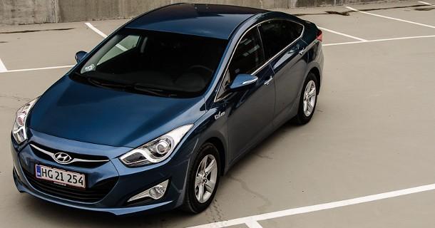 Skarpere pris på Hyundai i40 leasing