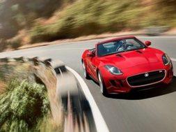 Billede af den nye Jaguar F-Type roadster
