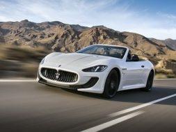 Maserati GranCabrio MC får premiere i Paris