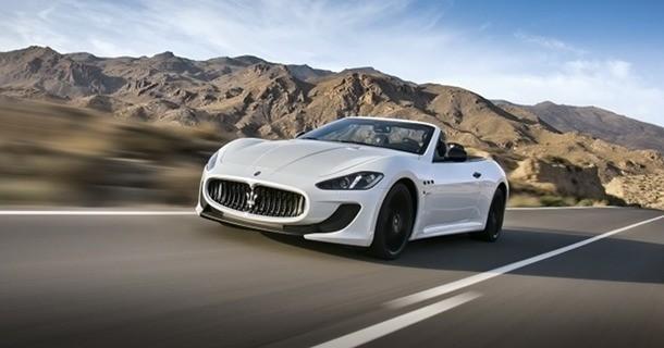 Maserati GranCabrio MC offentliggøres i Paris?