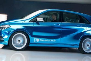 Elektrisk Mercedes B-klasse koncept