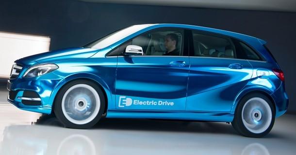 Elektrisk Mercedes B-klasse